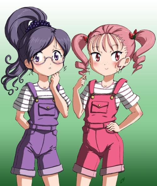 Grape-&-Strawberry-girls