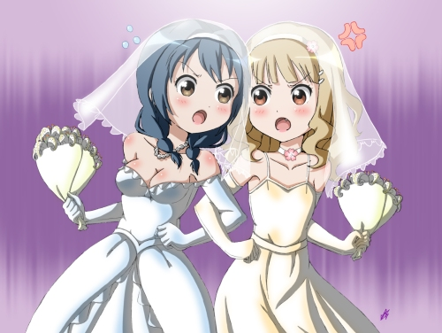 Himawari-&-Sakurako's-wedding