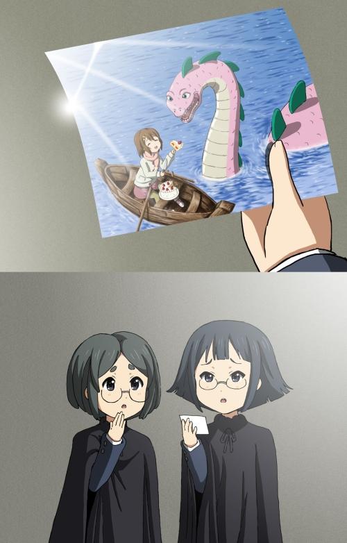 Yui-found-Nessie!