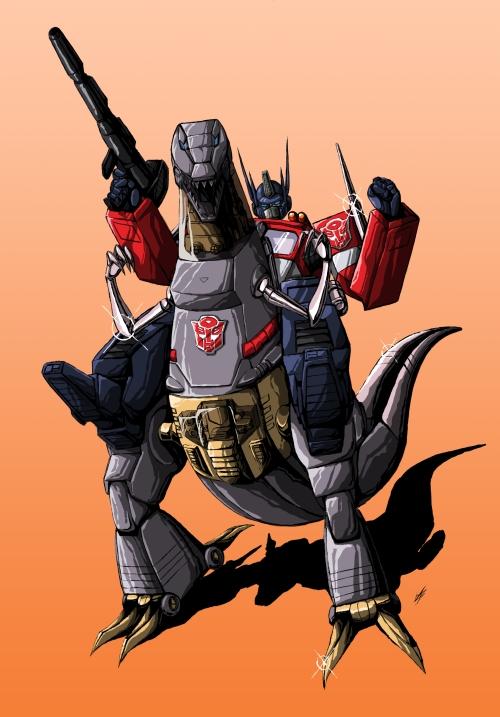 Optimus-Prime-riding-on-Grimlock-A